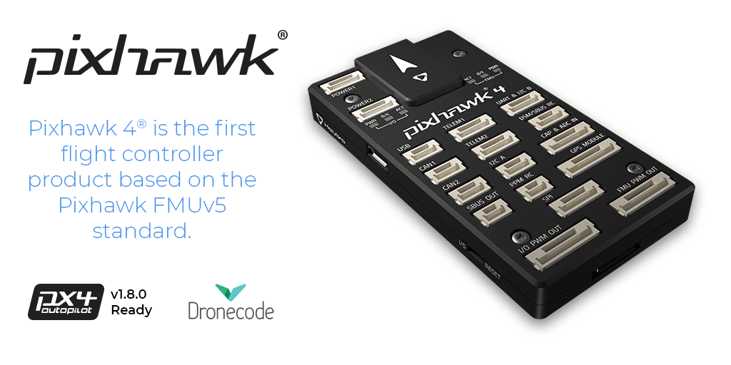 Pixhawk ® 4 now shipping globally! - Dronecode