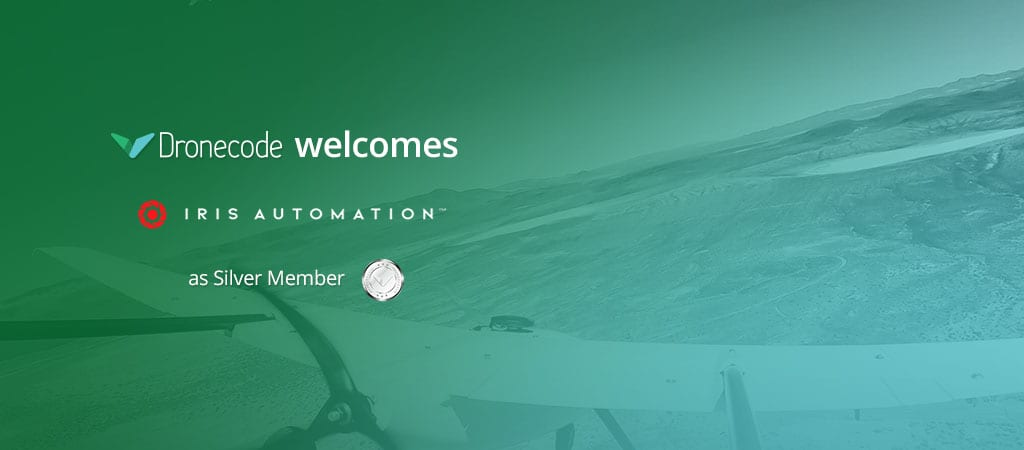 Dronecode welcome Iris Automation as Silver Member